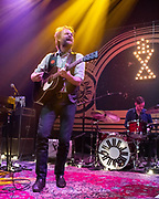 WASHINGTON, DC - January 15, 2020 - Hiss Golden Messenger singer MC Taylor performs at the 9:30 Club in Washington, D.C. with drummer Al Smith. (Photo by Kyle Gustafson / For The Washington Post)
