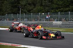 August 28, 2016 - Spa Francorchamps, Belgium - Motorsports: FIA Formula One World Championship 2016, Grand Prix of Belgium, .#33 Max Verstappen (NLD, Red Bull Racing), #7 Kimi Raikkonen (FIN, Scuderia Ferrari) (Credit Image: © Hoch Zwei via ZUMA Wire)