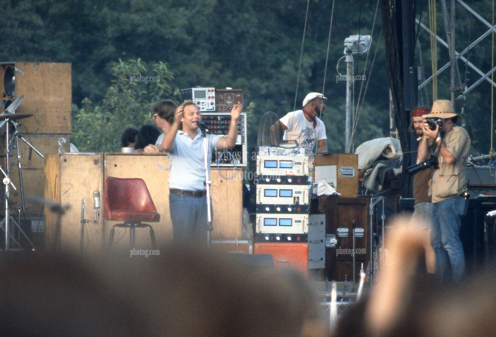 John Scher announcing the Labor Day Weekend Grateful Dead Concert at Raceway Park Englishtown NJ on 3 September 1977