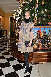 JADE PARFITT at the Claridge's Christmas Tree By Dolce & Gabbana Launch Party held at Claridge's, Brook Street, London on 26th November 2013.