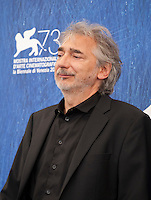 Cinematographer Wolfgang Thaler at the Safari film photocall at the 73rd Venice Film Festival, on Saturday September 3rd 2016, Venice Lido, Italy. Photography: Doreen Kennedy