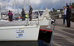 Pelle P Kip Regatta 2017 run by Royal Western Yacht Club at Kip Marina on the Clyde. <br /> <br /> Image Credit Marc Turner