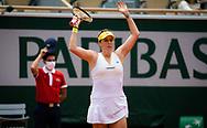 Anastasia Pavlyuchenkova of Russia during the Roland-Garros 2021, Grand Slam tennis tournament on June 6, 2021 at Roland-Garros stadium in Paris, France - Photo Rob Prange / Spain ProSportsImages / DPPI / ProSportsImages / DPPI