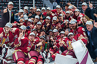REGINA, SK - MAY 27:  Acadie-Bathurst Titan win against the Regina Pats at Brandt Centre - Evraz Place on May 27, 2018 in Regina, Canada. (Photo by Marissa Baecker/CHL Images)