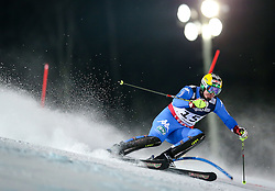 11.02.2013, Planai, Schladming, AUT, FIS Weltmeisterschaften Ski Alpin, Super Kombination, Slalom, Herren, im Bild  Dominik Paris (ITA) // Dominik Paris of Italy  in action during Mens Super Combined Slalom at the FIS Ski World Championships 2013 at the Planai Course, Schladming, Austria on 2013/02/11. EXPA Pictures © 2013, PhotoCredit: EXPA/ Johann Groder