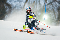 """Manuela Moelgg (ITA) during FIS Alpine Ski World Cup 2016/17 Ladies Slalom race named """"Snow Queen Trophy 2017"""", on January 3, 2017 in Course Crveni Spust at Sljeme hill, Zagreb, Croatia. Photo by Žiga Zupan / Sportida"""