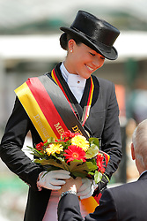 Sprehe Kristina, (GER)<br /> German National Championship Dressage - Balve 2015<br /> Balve - Balve Optimum 2015<br /> © Hippo Foto - Stefan Lafrentz<br /> 14/06/15
