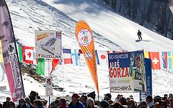 Fans of Ales Gorza of Slovenia during 2nd Rund of Men's Giant Slalom of FIS Ski World Cup Alpine Kranjska Gora, on March 5, 2011 in Vitranc/Podkoren, Kranjska Gora, Slovenia.  (Photo By Vid Ponikvar / Sportida.com)
