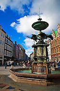 Copenhagen Stork Fountain