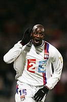Fotball<br /> Frankrike<br /> Foto: Dppi/Digitalsport<br /> NORWAY ONLY<br /> <br /> FOOTBALL - FRENCH LEAGUE CUP 2006/2007 - OLYMPIQUE LYON v AS NANCY LORAINNE - 20/12/2006 - JOY ALOU DIARRA (LYON) AFTER HIS GOAL