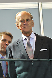 Buckingham Palace has announced Prince Philip, The Duke of Edinburgh, has passed away age 99 - FILE - Duke of Edinburgh makes a visit to the Aquatics centre during the 2012 London Olympics on July 28, 2012. Photo by Gouhier-Guibbaud-JMP/ABACAPRESS.COM