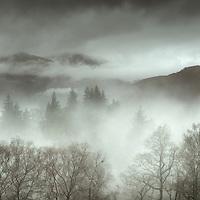 Mist over Inversnaid, Loch Lomond