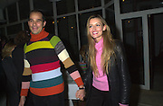 Martin Kelly and Natasha Macilhorne. How to be a Domestic Goddess. Nigella Lawson book party. 16 October 2000. © Copyright Photograph by Dafydd Jones 66 Stockwell Park Rd. London SW9 0DA Tel 020 7733 0108 www.dafjones.com