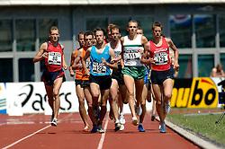 08-07-2006 ATLETIEK: NK BAAN: AMSTERDAM<br /> 1500 meter met oa Rob Detert Oude Weme (111) en Bas Eefting  (591)<br /> ©2006-WWW.FOTOHOOGENDOORN.NL