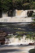 Orinduik Falls<br /> Potaro-Siparuni Region<br /> Brazil Guyana border<br /> GUYANA<br /> South America