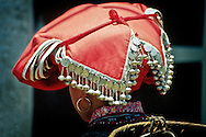 A hat from the Red Zao tribe in Sapa.