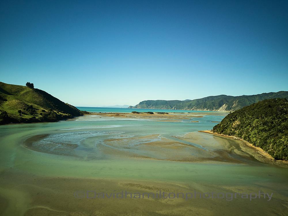 Cable bay Nelson Estuary, New Zealand