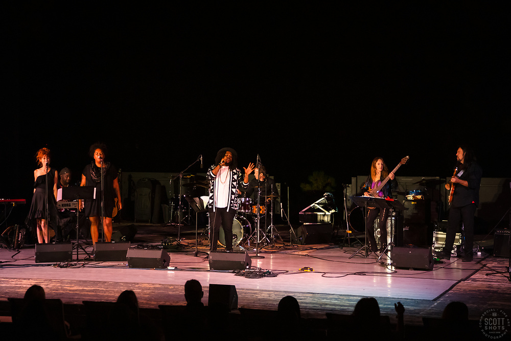 World Concert 2019 - Photos of the annual World Concert at Sand Harbor's Shakespeare Theater with Lake Tahoe in the background.