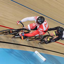 06-11-2016: Wielrennen: NK Teamsprint en Ploegenachtervolging : Apeldoorn  APELDOORN (NED) wielrennen  In het Omnisportcentrum in Apeldoorn werd gestreden om de nationale titels op de ploegenachtervolging en teamsprint. Jeffrey Hoogland, Hugo Haak
