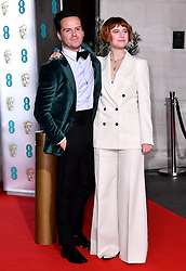 Andrew Scott and Jessie Buckley attending the after show party for the 73rd British Academy Film Awards.