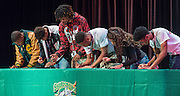 Academic Signing Day at Sharpstown High School, May 16, 2016.