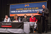Yanis Varoufakis, former finance minister of Greece speaking at the PCS public fringe meeting at TUC congress 2015. Fighting for our future: There is an alternative to austerity.