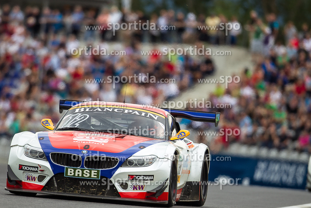 10.08.2013, Red Bull Ring, Spielberg, AUT, ADAC GT Masters, 1. Rennen, im Bild DB Motorsport, (#12, Simon Knap, NED und Jeroen den Boer, NED) // during the ADAC GT Masters 1st race day at the Red Bull Ring in Spielberg on August 10th 2013, EXPA Pictures © 2013, PhotoCredit: EXPA/ Mario Kuhnke