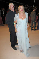 Opening Ceremony Dinner Arrivals - 74th Venice Film Festival. 30 Aug 2017 Pictured: Ricky Tognazzi, Simona Izzo. Photo credit: kilmax / MEGA TheMegaAgency.com +1 888 505 6342