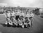 30/04/1961<br /> 04/30/1961<br /> 30 April 1961<br /> Soccer: Cork Celtic v Drumcondra, Final of Top Four Competition at Dalymount Park, Dublin. The Drumcondra team.