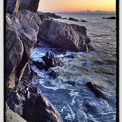 """Dawn at Wallis Sands State Park in Rye, New Hampshire. iPhone photo - file size adequate for reproductions up to 8"""" x 12""""."""