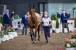 Baryard-Johnsson Malin, SWE, Indiana, 385<br /> Olympic Games Tokyo 2021<br /> © Hippo Foto - Dirk Caremans<br /> 31/07/2021