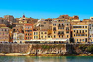 The UNESCO World Hertitage Corfu Old Town , Greek Ionian Islands .<br /> <br /> If you prefer to buy from our ALAMY PHOTO LIBRARY  Collection visit : https://www.alamy.com/portfolio/paul-williams-funkystock/corfugreece.html <br /> <br /> Visit our GREECE PHOTO COLLECTIONS for more photos to download or buy as wall art prints https://funkystock.photoshelter.com/gallery-collection/Pictures-Images-of-Greece-Photos-of-Greek-Historic-Landmark-Sites/C0000w6e8OkknEb8