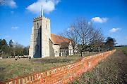 All Saints church, Sudbourne, Suffolk, England