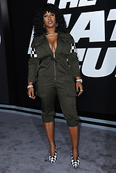 April 8, 2017 - New York, NY, USA - April 8, 2017  New York City..Remy Ma attending 'The Fate Of The Furious' New York premiere at Radio City Music Hall on April 8, 2017 in New York City. (Credit Image: © Kristin Callahan/Ace Pictures via ZUMA Press)