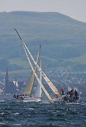 Largs Regatta Week 2015, hosted by Largs Sailing Club and Fairlie Yacht Club<br /> <br /> GBR1121L, Tangaroa, Provavia 38 , Des & Liz Balmforth<br /> <br /> Credit Marc Turner