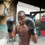 """Havana, Cuba boxing gym.<br /> <br /> For all details about sizes, paper and pricing starting at $85, click """"Add to Cart"""" below."""