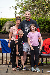 © Licensed to London News Pictures. 26/04/20. Wakefield, UK. <br />