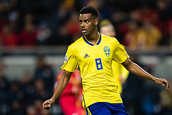 March 23, 2019 - Stockholm, SWEDEN - 190323 Alexander Isak of Sweden during the UEFA Euro Qualifier football match between Sweden and Romania on March 23, 2019 in Stockholm. (Credit Image: © Andreas L Eriksson/Bildbyran via ZUMA Press)