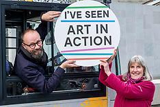 Art Gallery on tour, Edinburgh, 1 October 2019
