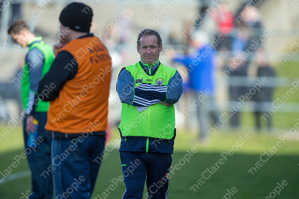 Clare's Manager Colm Collins