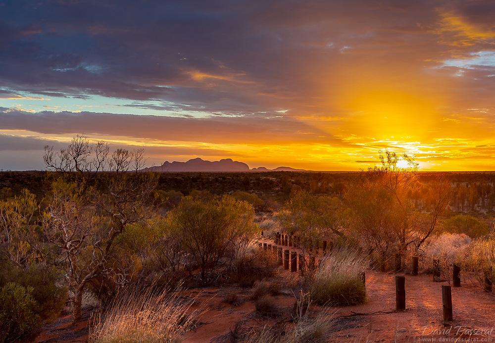 Olga mount in Uluru