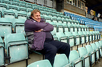 Photo: Alan Crowhurst.<br />Brighton & Hove Albion v Stoke City. Coca Cola Championship. 30/04/2006.Stoke coach for the last time Johan Boskamp.