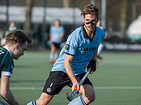 WASSENAAR - Floris van der Linden (HGC) tijdens de hoofdklasse competitiewedstrijd heren, HGC-HC ROTTERDAM (0-7) .     COPYRIGHT  KOEN SUYK