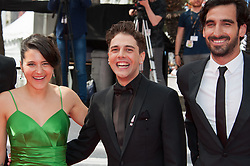 Xavier Dolan arriving on the red carpet of 'Matthias Et Maxime (Matthias and Maxime)' screening held at the Palais Des Festivals in Cannes, France on May 22, 2019 as part of the 72th Cannes Film Festival. Photo by Nicolas Genin/ABACAPRESS.COM