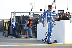 October 19, 2018 - Kansas City, Kansas, United States of America - Ricky Stenhouse, Jr (17) hangs out on pit road prior to qualifying for the Hollywood Casino 400 at Kansas Speedway in Kansas City, Kansas. (Credit Image: © Justin R. Noe Asp Inc/ASP via ZUMA Wire)