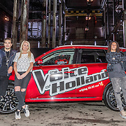 NLD/Halfweg/20161002 - Foto jury The voice of Holland 2016 / 2017, Waylon, Miss Montreal, Ali B., Guus Meeuwis