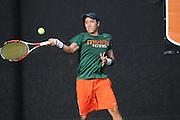 2014 Miami Hurricanes Men's Tennis vs Florida Atlantic