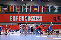 KOLDING, DENMARK - DECEMBER 5: EHF Euro 2020 Group D match between Poland and Romania in Sydbank Arena, Kolding, Denmark on December 5, 2020. Photo Credit: Allan Jensen/EVENTMEDIA.