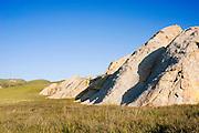 Morning light on Shelby Rocks, Carrizo Plain National Monument, California