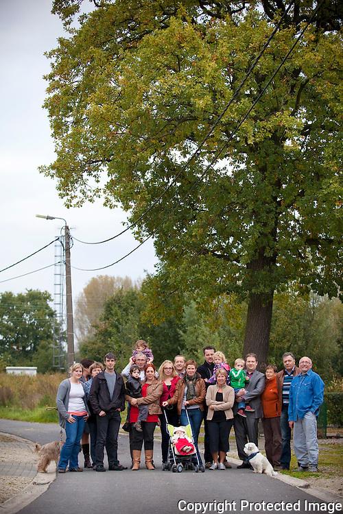367086-Buurtbewoners protesteren tegen brownfieldconvenant-Laekestraat Boortmeerbeek